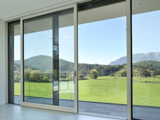 LE.ALL.FER. S.r.l. Ventanas de madera Aluminio/Cinc Beige