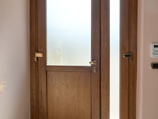 LE.ALL.FER. S.r.l. Front doors Engineered Wood Wood effect