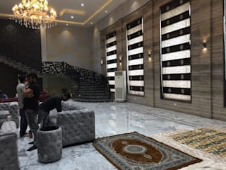Luxury Residential Interior design project in Mahanagar Lucknow by Decoruss (Interior designer Company) Modern style doors by Decoruss-Best Residential Interior Designer in lucknow,Best Interior Designing Services in lucknow, Interior decorator Modern