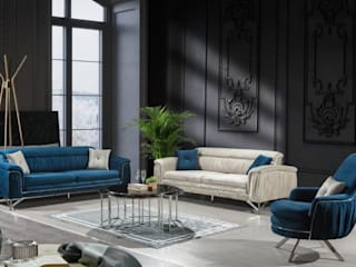 Imported Ultra Luxury Living Room Furniture: modern  by Urban Style,Modern