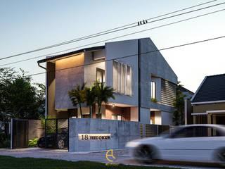 Con-Box House – Bapak Azhar – Bintaro, Tangerang Selatan Oleh Rancang Reka Ruang Industrial