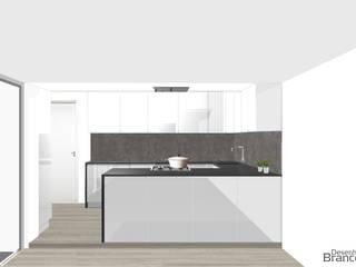 Desenho Branco Modern kitchen White