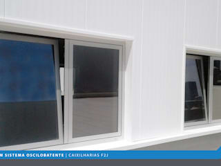 F2J, Lda. Modern windows & doors Aluminium/Zinc Multicolored