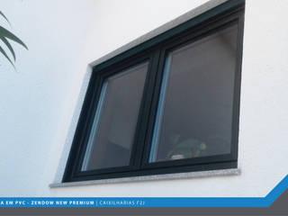 F2J, Lda. Okna plastikowe Wielokolorowy