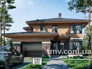 Современный двухэтажный дом в стиле Райта TMV 23C от TMV Architecture company