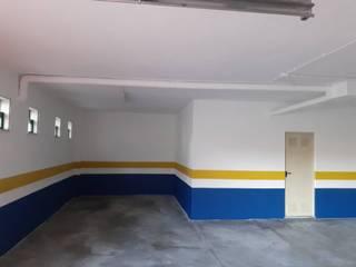 R&C Remodelações e Construção Civil Lda. Garasi Gaya Industrial Multicolored