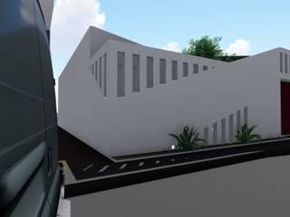 FACHADA AGALLA - Casa Crec-CF Casas de estilo minimalista de Juliano.Arquitectos Minimalista