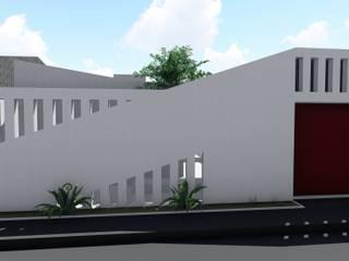 FACHADA AGALLA - Casa Crec-CF de Juliano.Arquitectos