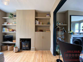 Reasons To Choose Modern Alcove Cupboards: modern  by Solid Carpentry Ltd, Modern