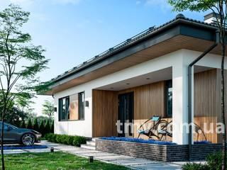 Компактный одноэтажный коттедж без гаража TMV 116 от TMV Architecture company