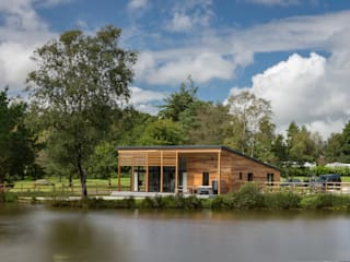 Stafford Moor Fishery Trewin Design Architects Commercial Spaces Solid Wood Wood effect