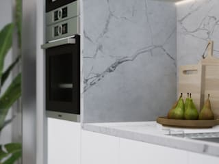 Escala Absoluta Modern kitchen White