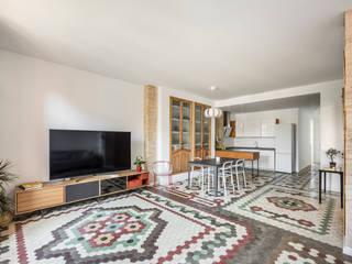 Home in Ruzafa tambori arquitectes Living room