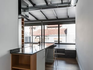 Penthouse in Valencia tambori arquitectes Cocinas de estilo moderno