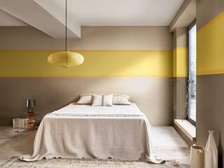 Using Dulux Colour of the Year 2021 - Brave Ground (TM) - in Bedrooms Dulux UK SchlafzimmerAccessoires und Dekoration Mehrfarbig