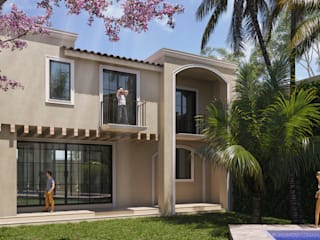 SG Huerta Arquitecto Cancun Single family home Limestone White