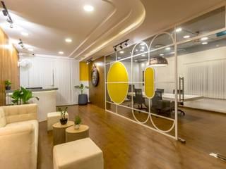 Office Interior Decorators in Bangalore Bhavana Interiors Decorators Office spaces & stores Wood effect