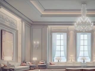 Interior Design of Lovely Majlis Minimalist Oturma Odası IONS DESIGN Minimalist