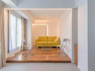 Quimera Renovacion SL Salas de estilo minimalista