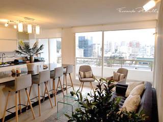 PROYECTO HISPANO Planells Livings de estilo moderno