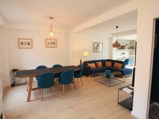 SAB & CO Salas de estar modernas