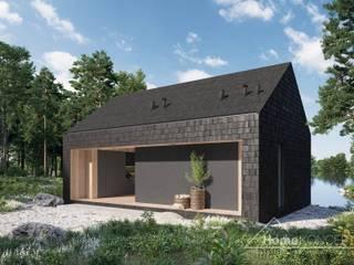 Projekt domu HomeKONCEPT 85 DL HomeKONCEPT   Projekty Domów Nowoczesnych