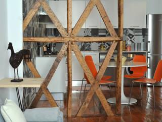 BORDEAUX CENTRE- Rénovation totale d'un 3 pièces de caractère SAB & CO Cuisine moderne