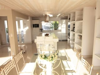 BIDART VILLA EDEN Restructuration d'une villa contemporaine – 5 chambres – 250 m2 SAB & CO Salle à manger méditerranéenne