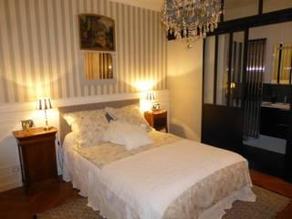 PESSAC ALOUETTE Modification d'une chambre parentale avec remplacement d'un placard en petite pièce d'eau SAB & CO Chambre classique