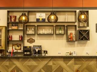 Moderne Bars & Clubs von MARIA IGNEZ DELUNO arquitetura Modern