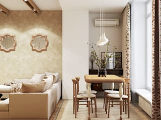 Artichok Design Living room Wood Beige