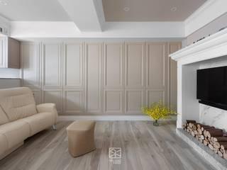 禾廊室內設計 Phòng khách phong cách kinh điển