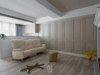 禾廊室內設計 Klasyczny salon