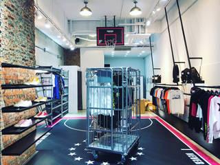 服飾店內的籃球場!!周杰倫-Phantaci西門店. 光島室內設計 展覽中心