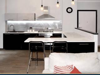 Ristrutturazione appartamento 80 mq – Roma di Francesca Rubbi Architecture Moderno