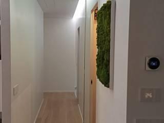 Alessandra Sacripante 現代風玄關、走廊與階梯
