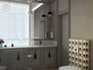 Bathroom Inspirations from LUXURY CHANDELIER por Luxury Chandelier Moderno