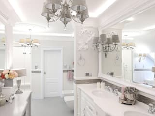 Bathroom Inspirations from LUXURY CHANDELIER por Luxury Chandelier Clássico