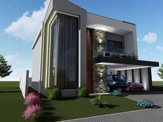 Casa Harmony Village Danilo Rodrigues Arquitetura Casas familiares