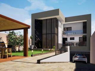 Moderne huizen van Danilo Rodrigues Arquitetura Modern