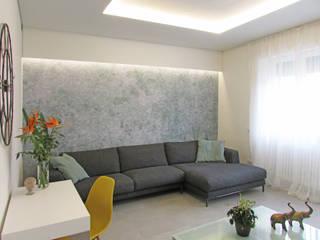 B+P architetti Salas de estilo mediterraneo