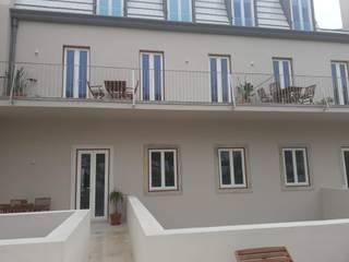 R&C Remodelações e Construção Civil Lda. Rumah Modern Beige