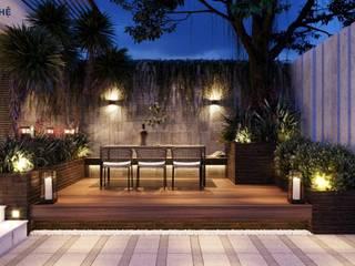 Modern Garden by Công ty TNHH Nội Thất Mạnh Hệ Modern
