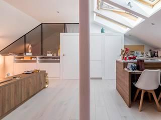 Livings modernos: Ideas, imágenes y decoración de AGi architects arquitectos y diseñadores en Madrid Moderno