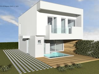 ATELIER OPEN ® - Arquitetura e Engenharia Passivhaus Eisen/Stahl Grau