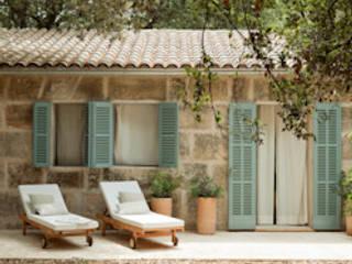 Mediterrane luxe in de Nederlandse huiskamer Juntos Mediterrane woonkamers Bamboe Bruin