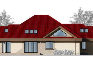 LEO Klasyczne domy od Architekt Villanette Klasyczny