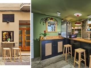 Local comercial Cocinas de estilo moderno de CRUCES ESTUDIO INTERIORISMO S.L. Moderno