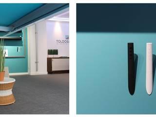 Local comercial Estudios y despachos de estilo moderno de CRUCES ESTUDIO INTERIORISMO S.L. Moderno