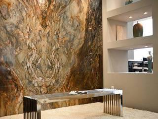 كاسل للإستشارات الهندسية وأعمال الديكور والتشطيبات العامة Paredes y pisos de estilo moderno Madera maciza Beige